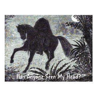 Hat jemand meinen Kopf gesehen? Postkarte
