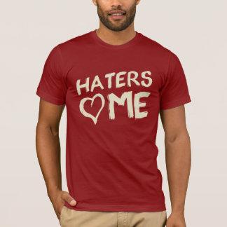 HATERS Liebe ICH grafisches T-STÜCK T-Shirt
