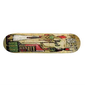 Hathor, ägyptische Göttin, Platane-Niederlassung a Personalisierte Skateboards
