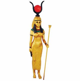 Hathor Freistehende Fotoskulptur