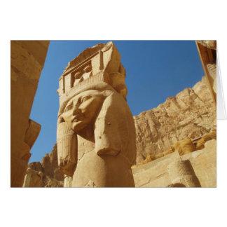 Hathor - Göttin der Liebe und der Musik, ÄGYPTEN Grußkarte