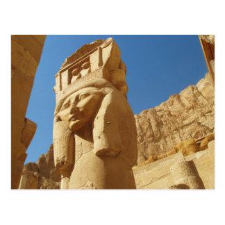 Hathor - Göttin der Liebe und der Musik, ÄGYPTEN Postkarte