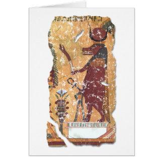 Hathor Grußkarte