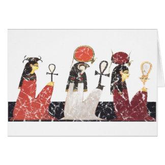 Hathor, Ra und Selkis Karte