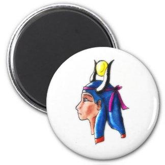 Hathor Runder Magnet 5,1 Cm