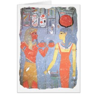 Hathor u. Horemheb Karte