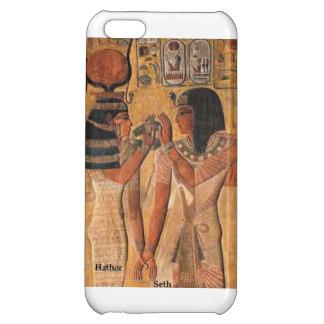 Hathor und Seth vom alten Ägypter Art. iPhone 5C Schale