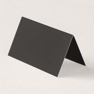 Hauptsächlich hübsche schwarze Farbe Visitenkarten