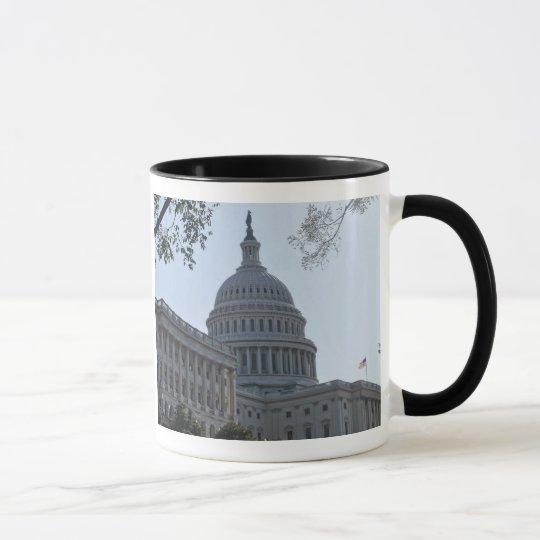 Hauptstadts-Gebäude Tasse
