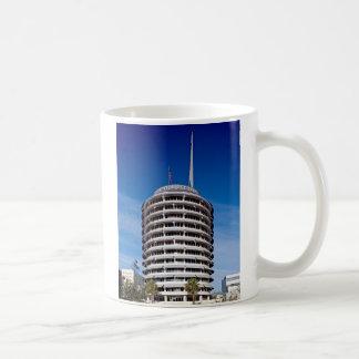 Hauptstadts-Plattenen-Turm LA Kaffeetasse
