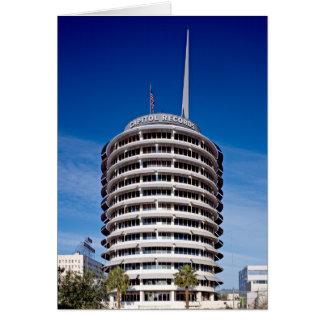 Hauptstadts-Plattenen-Turm LA Karte