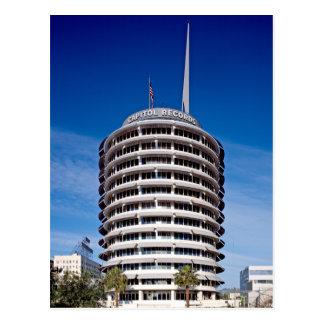 Hauptstadts-Plattenen-Turm LA Postkarte