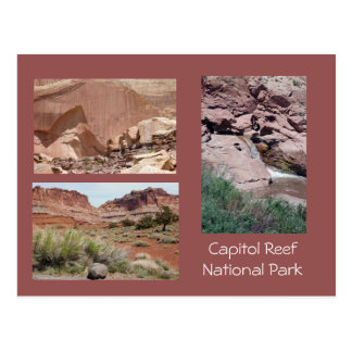 Hauptstadts-Riff-landschaftliche Postkarte