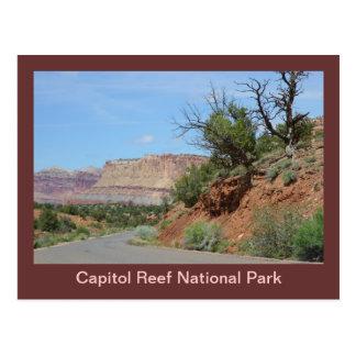 Hauptstadts-Riff-Nationalpark Postkarte