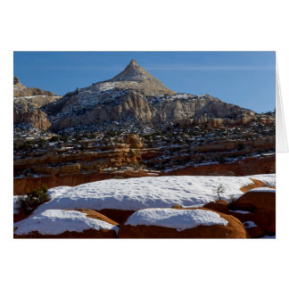 Hauptstadts-Riff-Nationalpark, Utah, USA 5 Karte