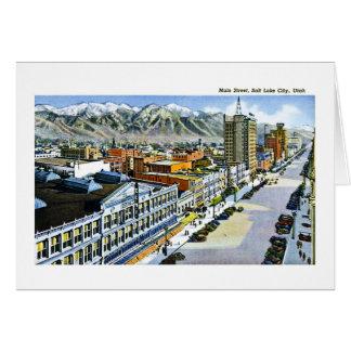Hauptstraße, Salt Lake City, Utah Karte
