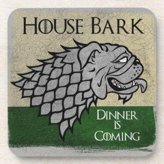 Haus-Barke - Abendessen kommt Untersetzer