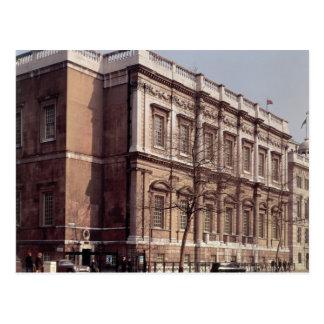 Haus festlich bewirten, Whitehall, im Jahre 1622 Postkarte
