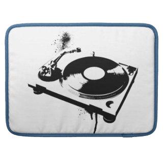 Haus-Musik DJ-Turntable Macbook Hülsen-| Ibiza Sleeves Für MacBooks