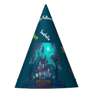 Haus-Party-Hut Halloweens Spuk Partyhütchen