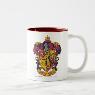 Haus-Wappen Harry Potter | Gryffindor Zweifarbige Tasse