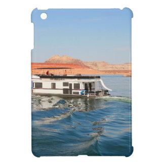 Hausboot, das Wellen, See Powell, Arizona macht iPad Mini Hülle