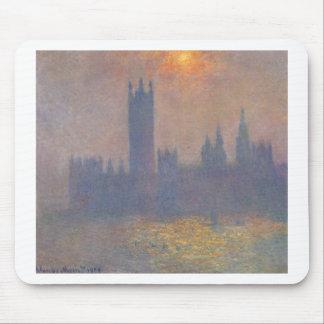 Häuser des Parlaments, Effekt des Sonnenlichts in Mousepads