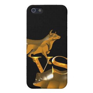Hausse gegen Baissemarkt Etui Fürs iPhone 5