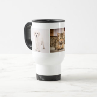 Haustier-Foto personalisiert Reisebecher