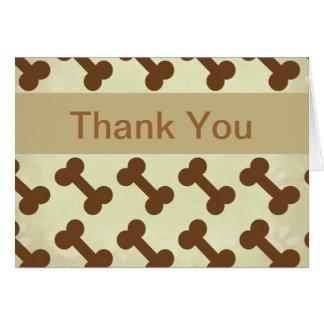 Haustier-Geschäft danken Ihnen Karten