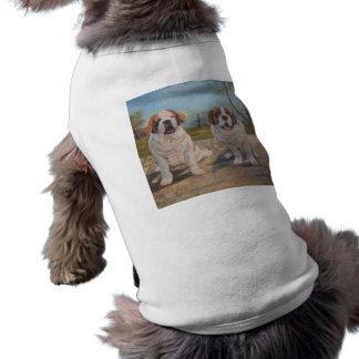 Haustier-Kleidung Ann Hayes, das zwei Heiliges T-Shirt