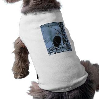 Haustier-Kleidung/Weißkopfseeadler im T-Shirt