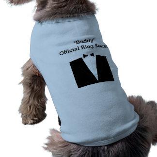 Haustier-Ring-Träger Ärmelfreies Hunde-Shirt