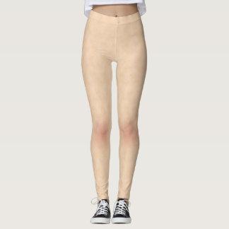 Haut-Art-Beschaffenheit mit Freckles-Gamaschen Leggings