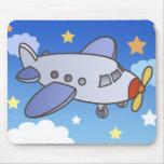 Haut avion volant Mousepad Tapis De Souris