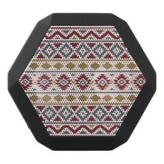 Haut-parleurs Noirs Sans-fils Crème bleue rouge d'or de Ptn III aztèque