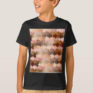 Haut-Ton-Laubsägen-Stücke T-Shirt