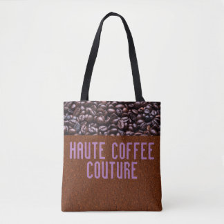 Haute Kaffee-Couturen Tasche