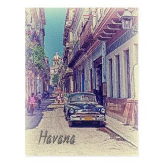 Havana, Kuba Postkarte