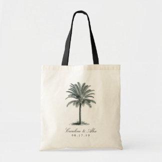 Havana-Palmen-Gastgeschenk Hochzeit Tragetasche