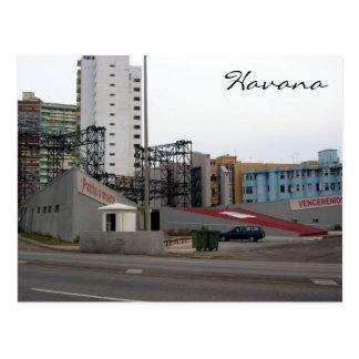 Havana-Proteste Postkarte