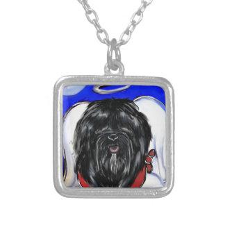 Havana-Seide-Hund Versilberte Kette