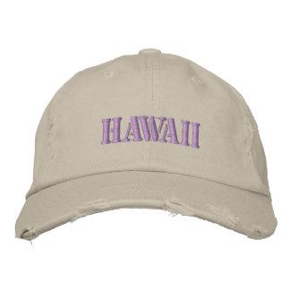 HAWAII BESTICKTE KAPPEN