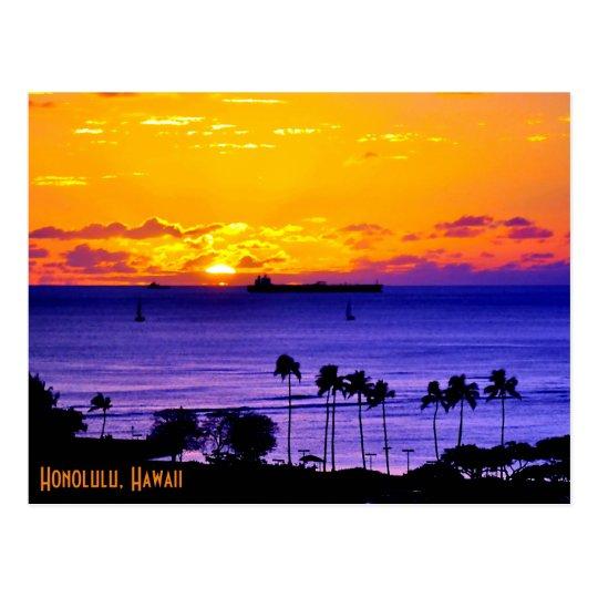 Hawaii-Blues Postkarte
