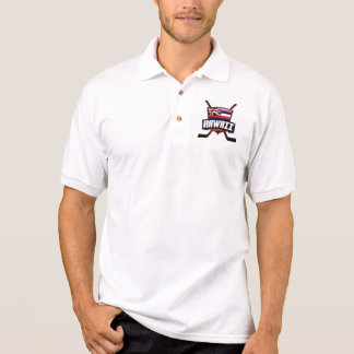 Hawaii-Eis-Hockey-Flagge Poloshirt
