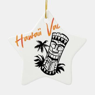 Hawaii-Ferien Keramik Stern-Ornament