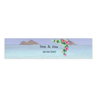 Hawaii-Hochzeit in Urlaubsorts-Servietten-Bänder Serviettenband