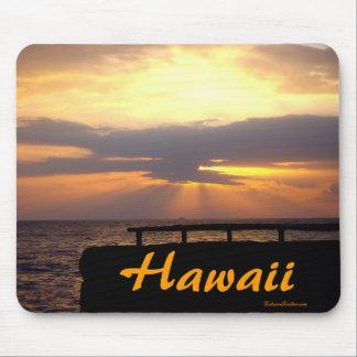 Hawaii-Horizont-Sonnenuntergang Mauspad
