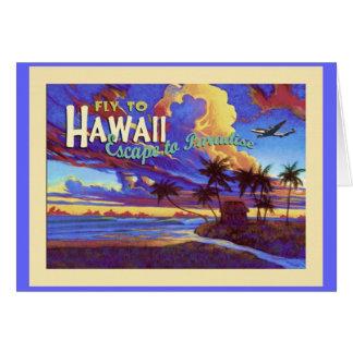 Hawaii Grußkarten