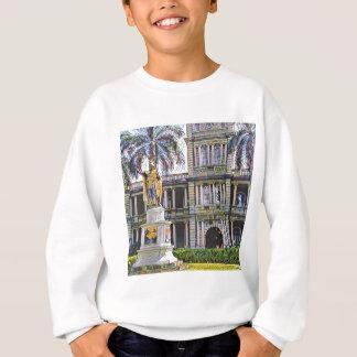 Hawaii-König Kamehameha Modern Sweatshirt